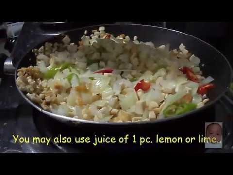 Crunchy Tofu Sisig (Vegetarian Sisig)
