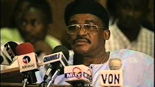 The Leaked Video Of Gen. Diya Oladipo Pleading With Gen. Sanni Abacha - Oputa Panel