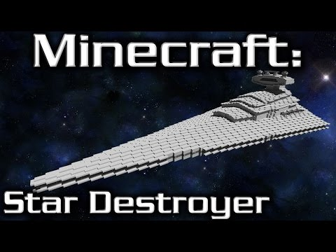 Minecraft: Star Wars: Star Destroyer Tutorial (Imperial I-Class 1/10th Scale)