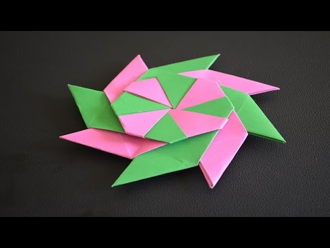 Very nice ORIGAMI with a color paper