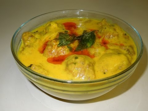 Punjabi kadhi Pakoda , Dahi Ki Kadhi (Yogurt Curry) Indian recipe