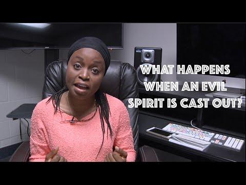 What Happens When An evil spirit is cast out?   Matt 12:43