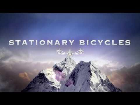 Stationary bike riding