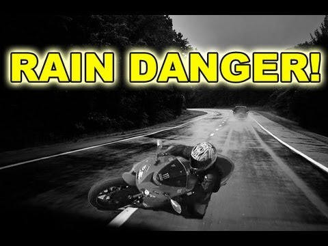 DON'T RIDE IN RAIN - Motorcycle Rain Dangers