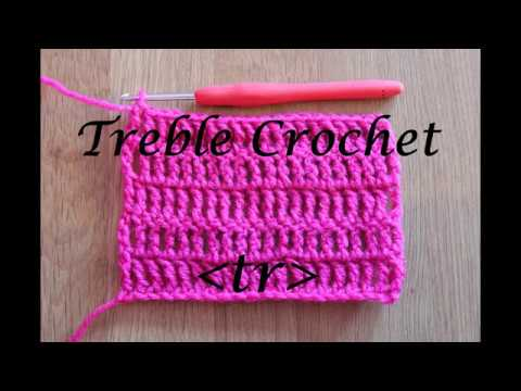 Treble Crochet - Crochet Lesson #6