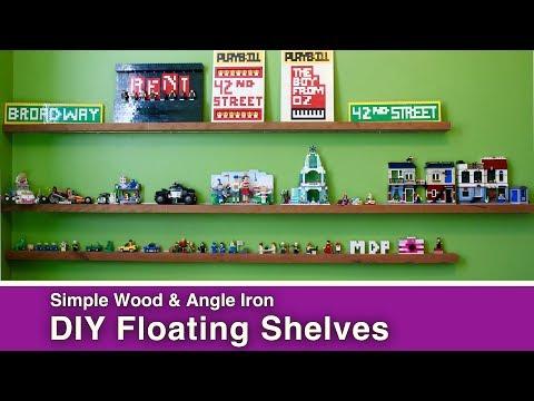How to Make Easy Floating Shelves