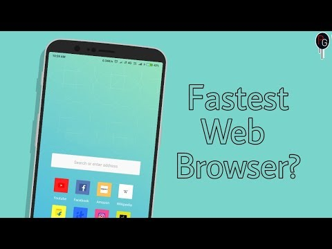 The fastest among all browsers || Fast And LightWeight Web Browser || Save Data  And Storage