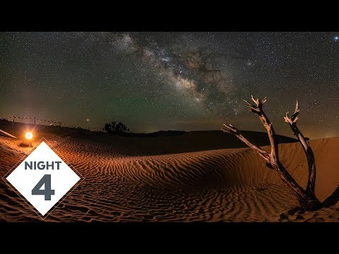 Little Sahara Sand Dunes for my 4th night of Milky Way Photography | #TheGreatMilkyWayChase Vlog