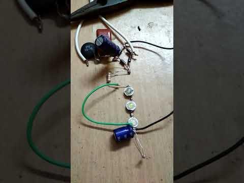 LED Bulb using `1 Watt LEDs