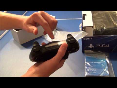 PS4 Unboxing!  (Day one edition)