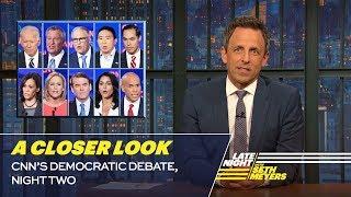 Download CNN's Democratic Debate, Night Two: A Closer Look Video