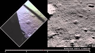 Apollo 11 Descent: Film and LRO Imagery