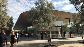 Apple Park visitor Center and Apple Store first look