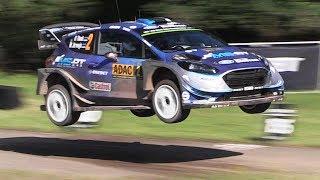 WRC Rallye Deutschland 2017 - Jumps, Pure Sounds & U-Turns from Saturday