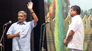 Parrikar and Tiatr Dabolim vo Mopa..
