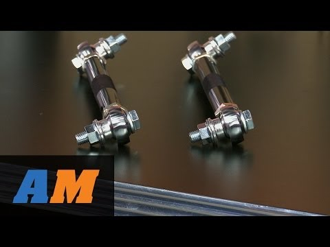 Mustang SR Performance Adjustable Front Sway Bar End Links (05-14 All) Review