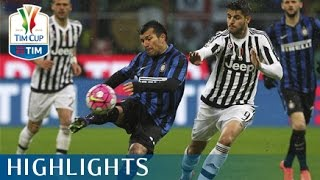 Inter -Juventus - 3 - 0 - (3-5 d.c.r) - Highlights - Semifinale - TIM Cup 2015/16