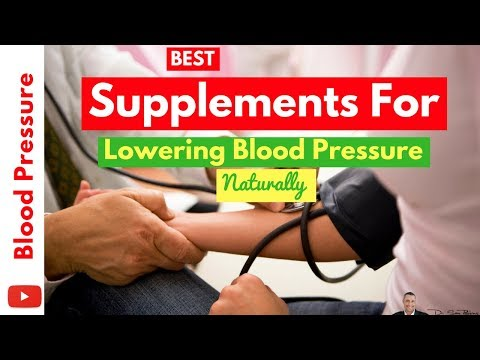 🌡 Best Supplements For Quickly Lowering Blood Pressure 100% Naturally