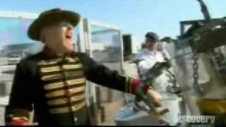 Mythbusters- Steam Machine Gun