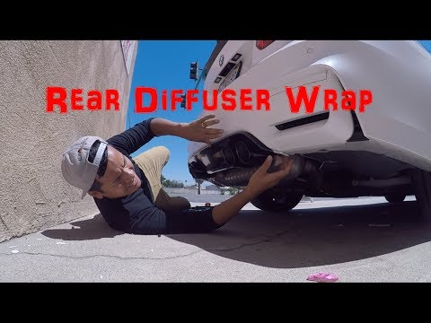 Getting My Rear Diffuser Carbon Fiber Wrapped