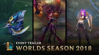 Welcome to Worlds Season | Worlds Season 2018 Event Trailer - League of Legends