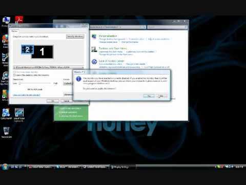 How To Set Up Dual Monitors On Vista