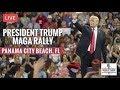 LIVE NOW President Trump Rally In Panama City Beach FL 5819
