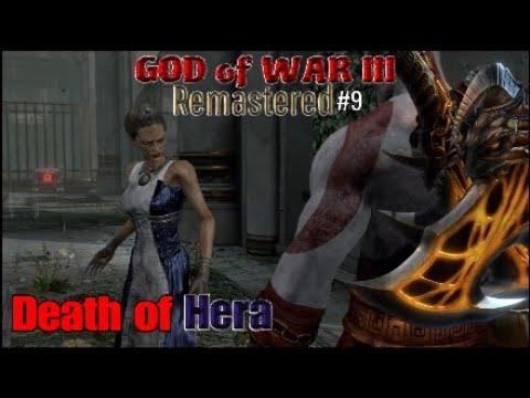 GOD of WAR III Remastered #9 Death of Hera