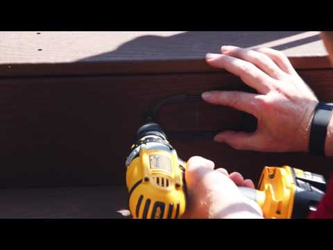 How to Install AZEK Lighting and Fascia on Your Deck