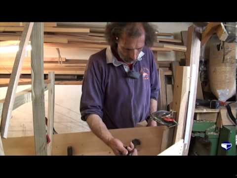 Fitting planks on a clinker vessel (small boats) - Part 4