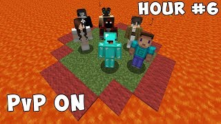 Last To Leave Circle in Minecraft Wins $1,000 - Challenge