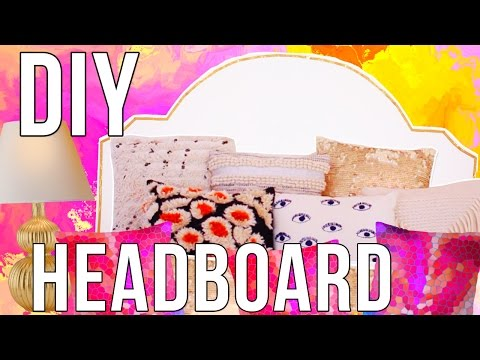 DIY Bedroom Decor: $2 Headboard | TanaMontana100