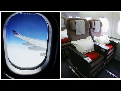 Virgin Atlantic Flight From Manchester To JFK NYC