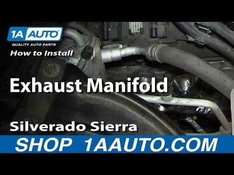 How To Install Replace Exhaust Manifold 5.3L Silverado Sierra Suburban Tahoe Yukon