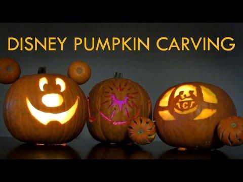 Disney Halloween Pumpkin Carving