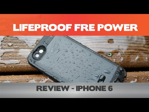 Feel the POWER! - LifeProof Fre Power Review -  iPhone 6 battery cases