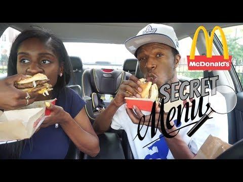 MCDONALD'S MUKBANG (SECRET MENU: McGangBang, McKinley Mac, McChicken, Big Mac)