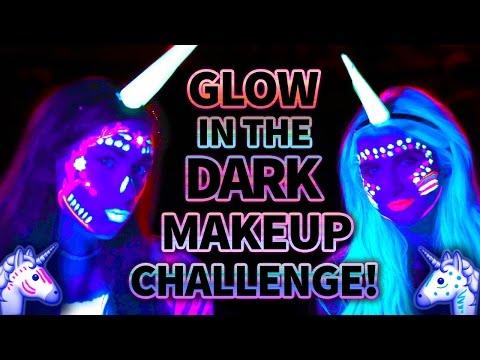 Glow in the Dark Unicorn MAKEUP CHALLENGE?! Wicked Wars