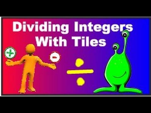 Dividing Integers Using Integer Tiles