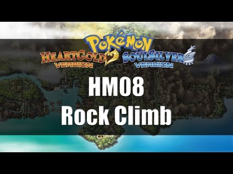 Pokemon Heart Gold & Soul Silver | Where to get HM08 Rock Climb