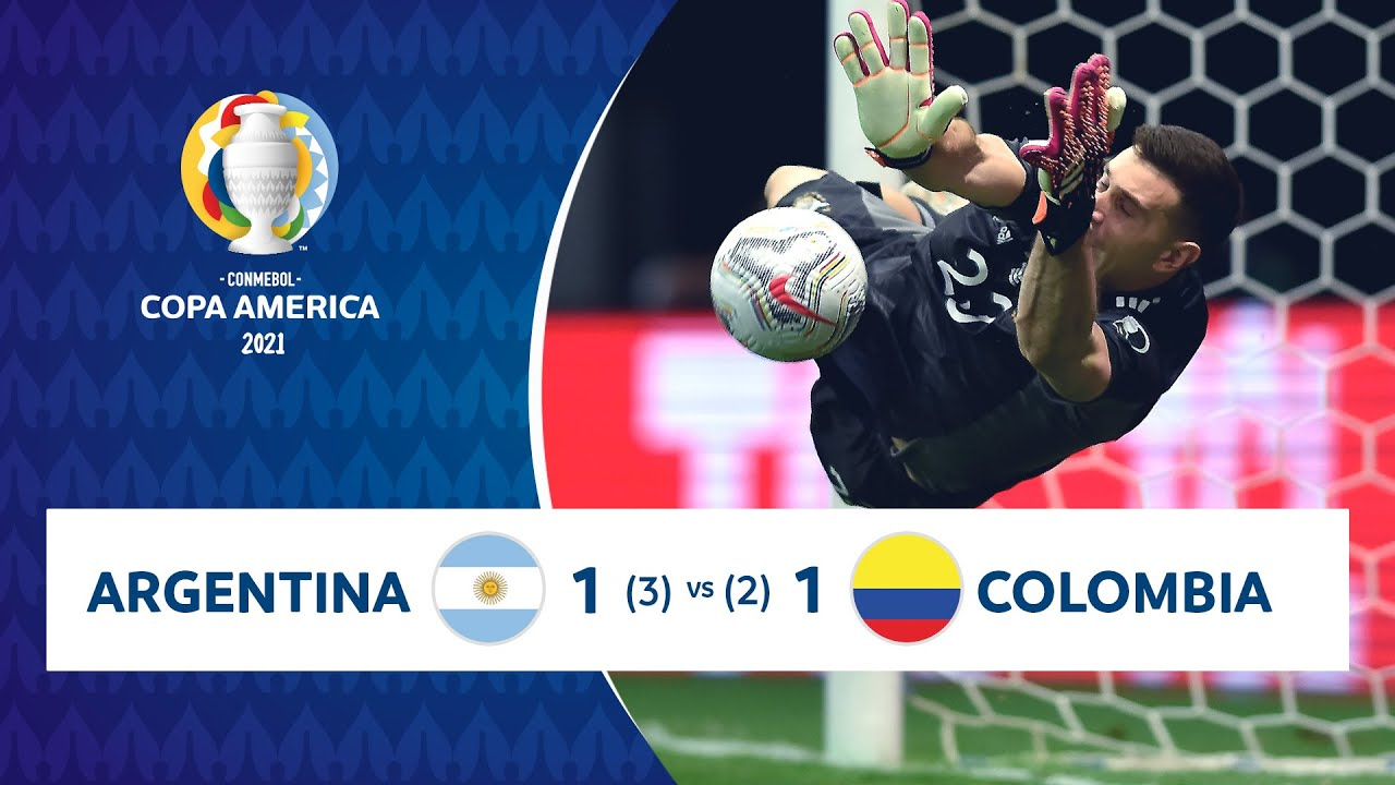 HIGHLIGHTS ARGENTINA 1 (3) - (2) 1 COLOMBIA | COPA AMÉRICA 2021 | 06-07-21