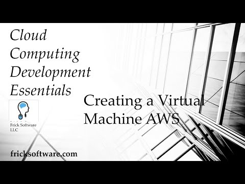 How to Create a Virtual Machine in Amazon AWS