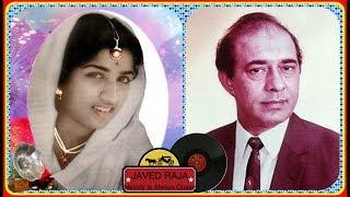 TALAT MEHMOOD & LATA JI-Film-HARI HAR BHAGHTI-{1956}-Chanda ka rang liye-[ GREAT DUET ]
