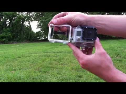 GoPro Hero 3 - Remove Back Door And Change Door