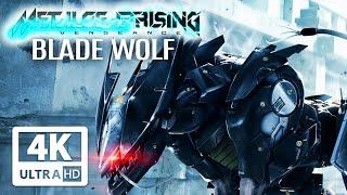 METAL GEAR RISING: BLADE WOLF All Cutscenes (Game Movie) 4K 60FPS Ultra HD