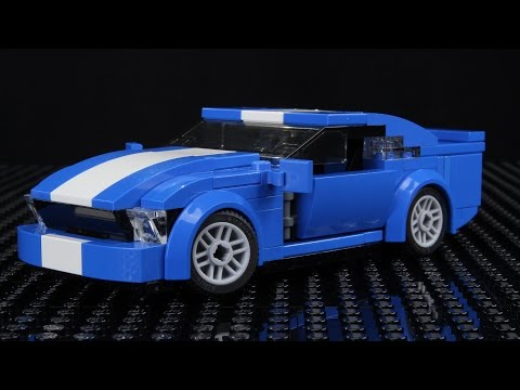 Lego Ford Mustang MOC