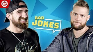 Download Dude Perfect Bad Joke Telling CHALLENGE Video