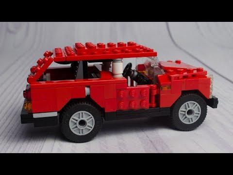 Range Rover Classic - Speed Build | Alternate Builds | Lego Creator 5867