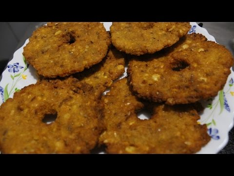 How to make moong dal and chana dal vada | Rama's kitchen