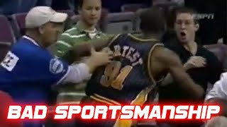 Most Unsportsmanlike Moments in Sports History
